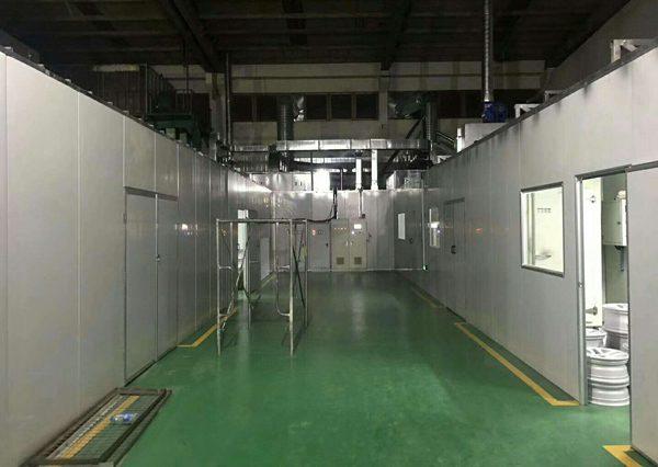 上海志琦常熟分产正式投入生产